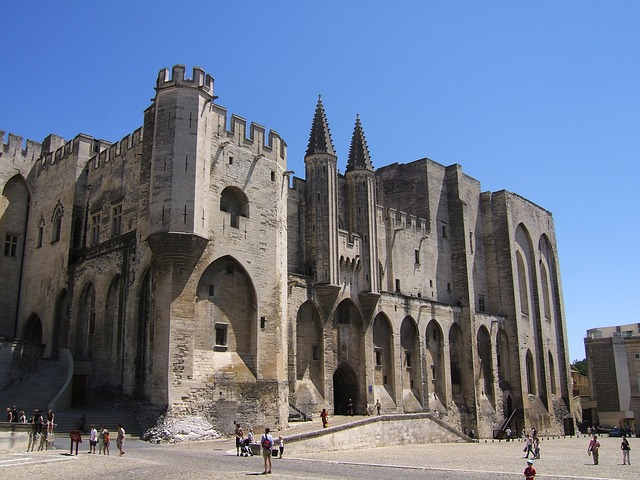 Free avignon france landscape church cathedral old