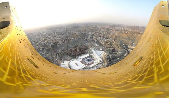 Free saudi arabia landscape makkah city cities urban