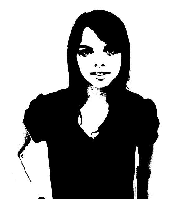 Free women silhouette contour figure people