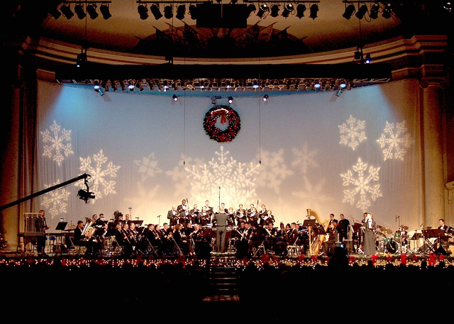 Free concert band navy band auditorium seating music