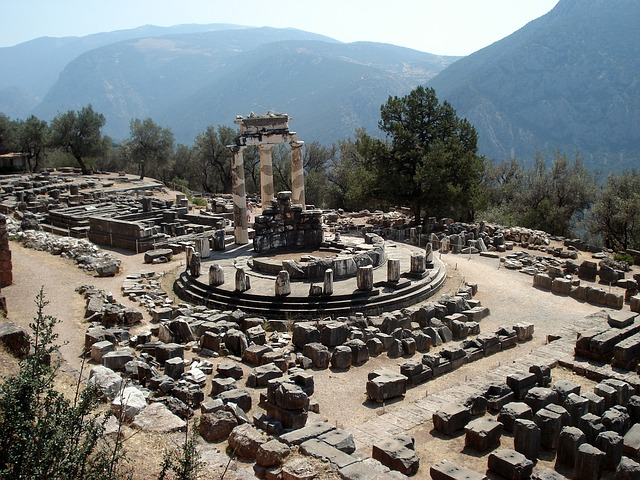 Free delphi ancient site greece