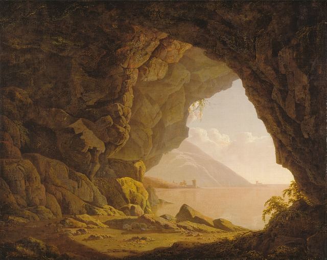 Free joseph wright art artistic painting oil on canvas