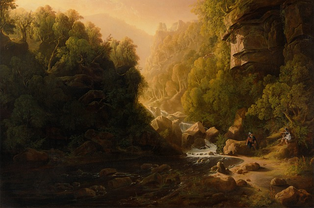 Free francis danby art artistic painting oil on canvas