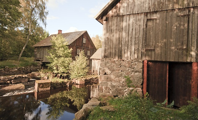 Free sweden barn house home wooden farm rural rustic