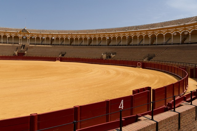 Free seville spain bullring arena venue seats seating