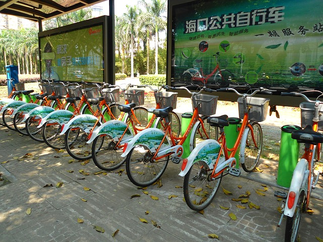 Free haikou china bikes bicycles transportation urban