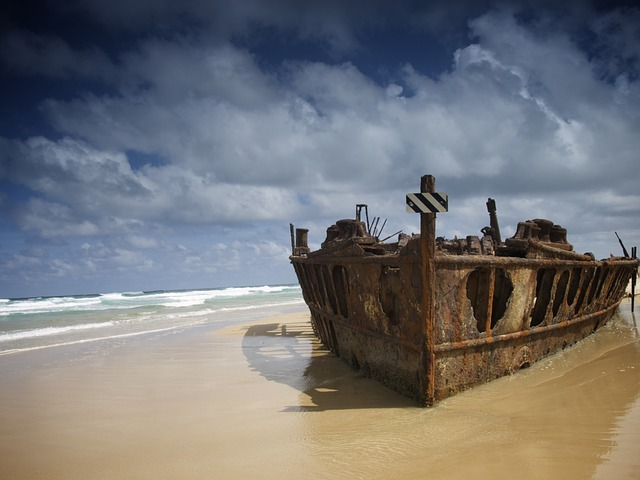 Free australia fraser island sea ocean water beach