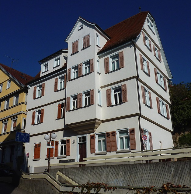 Free esslingen germany building house home apartments
