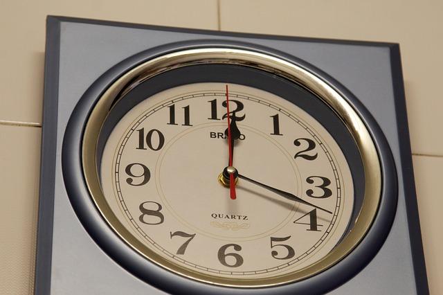Free programmable hour hands time clock calendar hours