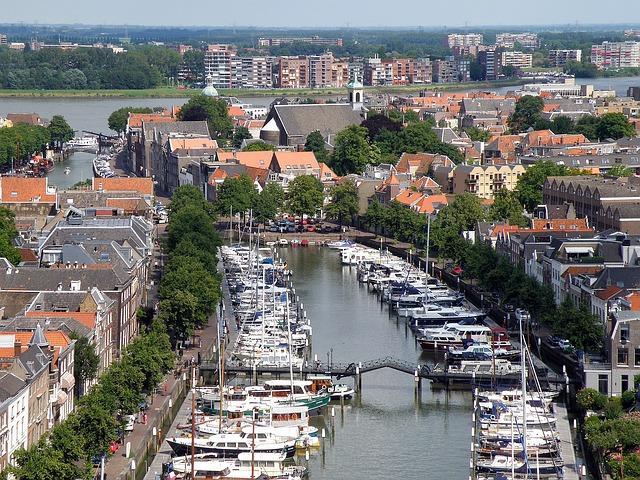 Free dordrecht netherlands city urban buildings