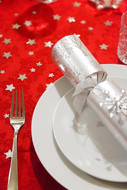 Free celebration christmas decoration dining dinner