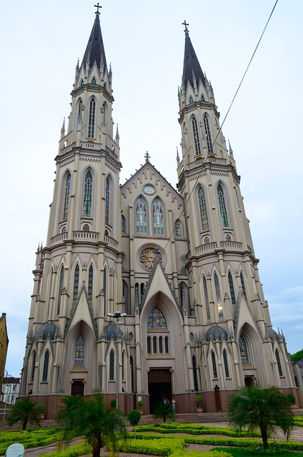 Free church st john baptist cathedral santa cruz do sul