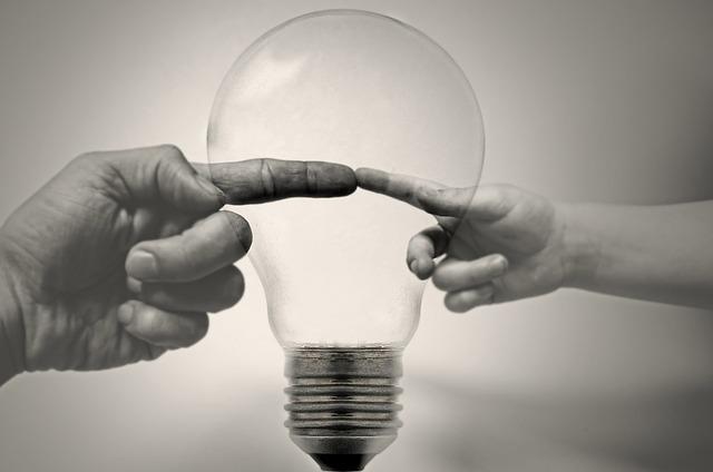 Free bulb light fingers hands hand home saving