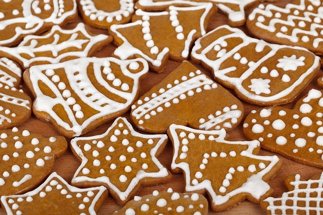 Free biscuit brown christmas cookie cookies decoration