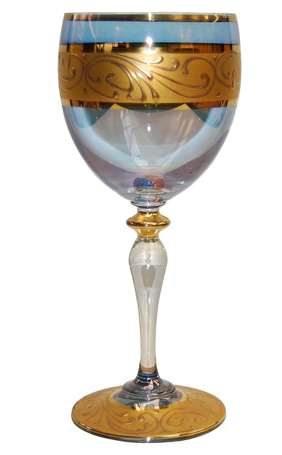 Free wine glass cup goblet crystal drink wine glass