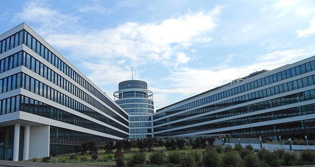 Free luxembourg buildings sky clouds offices business