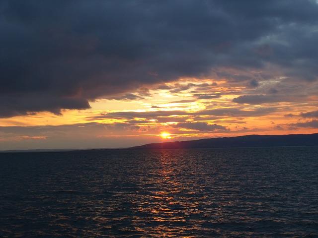 Free horizon sunset beach non working days