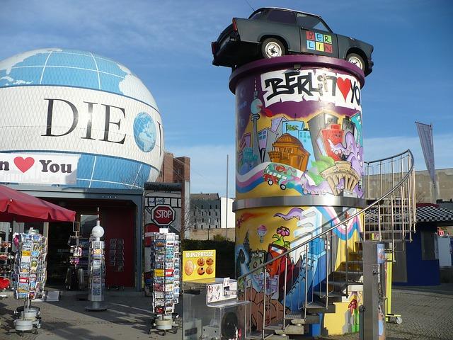 Free hotels in berlin graffiti trabant car antique car