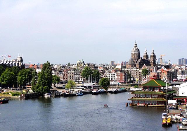 Free Photos: Amsterdam city buildings skyline architecture bay | David Mark