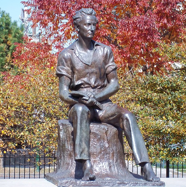 Free chicago illinois young lincoln statue monument