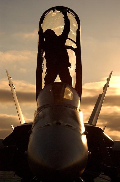 Free sky clouds sun sailor plane aircraft fighter jet
