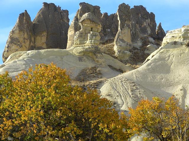 Free cappadocia tufa rock formations turkey landscape