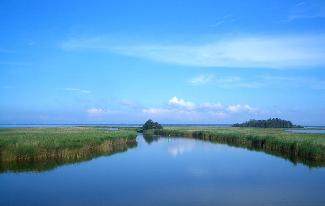 Free france river lake water sky clouds scenic vista