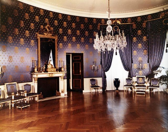 Free the white house 1952 blue room washington dc