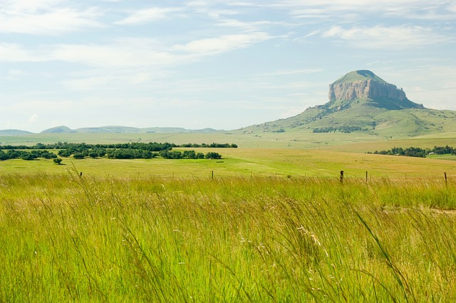 Free south africa landscape mountain sky clouds grass
