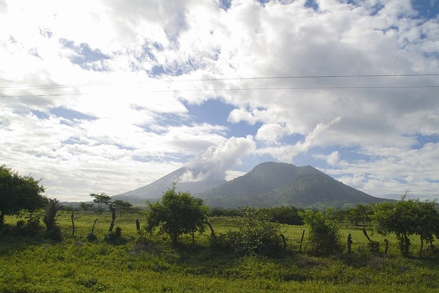 Free Photos: Nicaragua sky clouds landscape mountains trees | David Mark