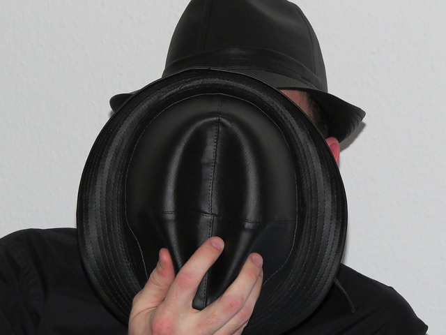 Free hats man person hidden leather