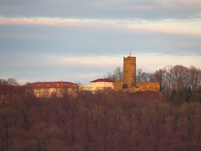 Free staufeneck castle burg staufeneck burgruine keep