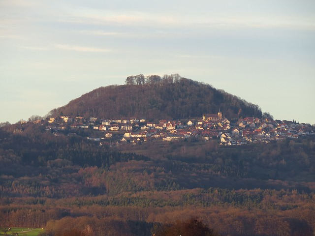 Free hohenstaufen mountain witness mountain swabian alb