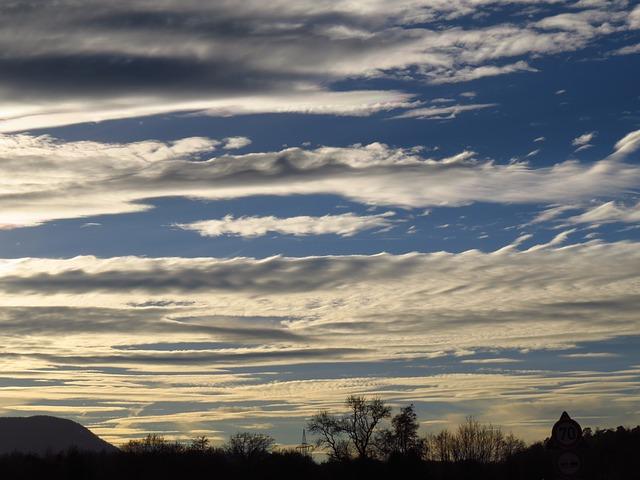 Free sky mood clouds cloud strips atmosphere