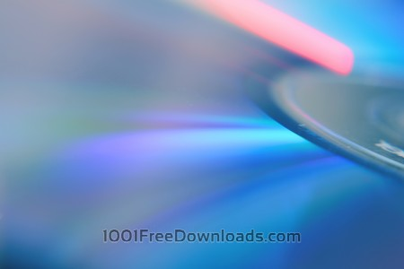 Free Compact Disk Closeup