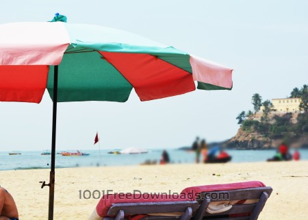 Free Tent on beach