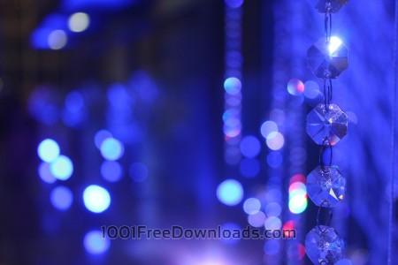 Free Blurry Blue Background