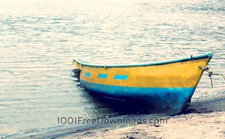 Free Boat on beach