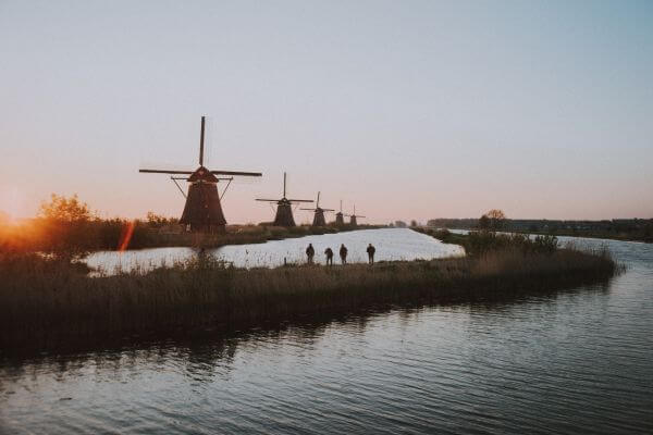 Free Kinderdijk