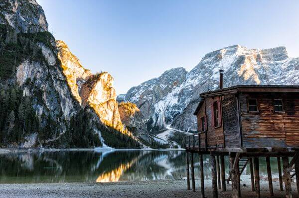 Free Lake Braies, Italy