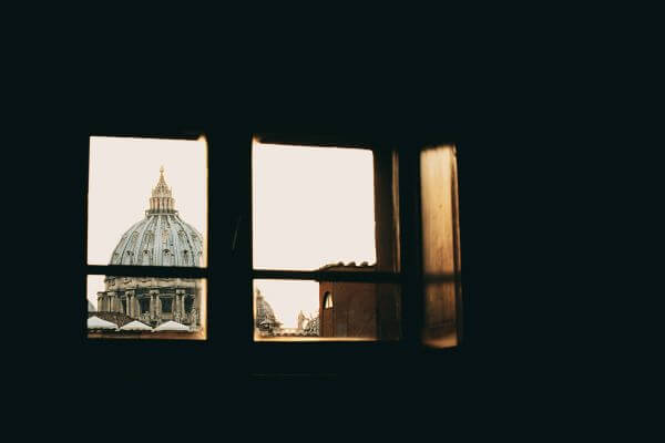 Free Vatican from the window
