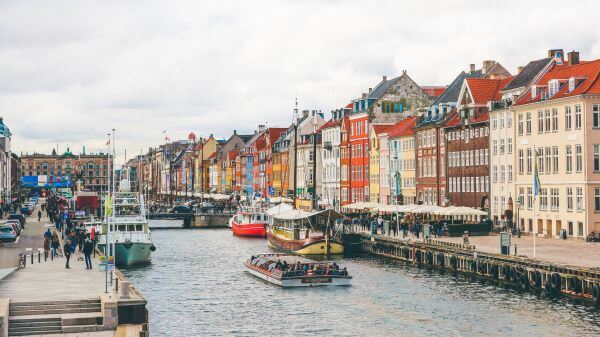 Free Nyhavn the Famous Copenhagen Canal