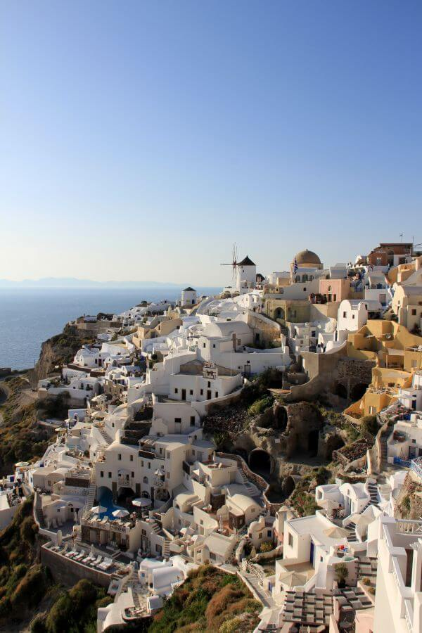 Free Calm at Santorini