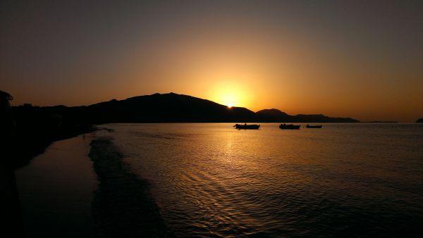 Free Sunset in Zante