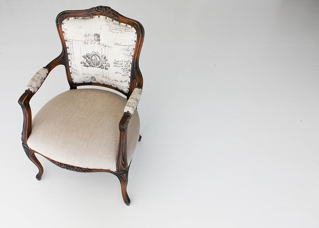 Free chair furniture wood white seat style wooden