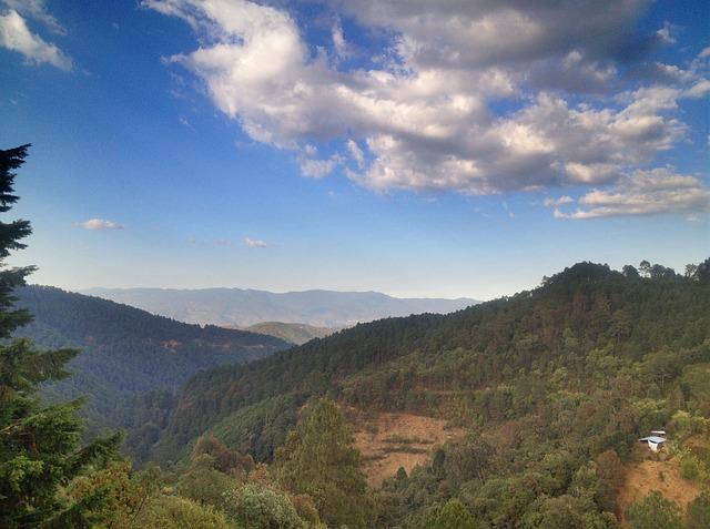 Free mexico oaxaca mountains green sky