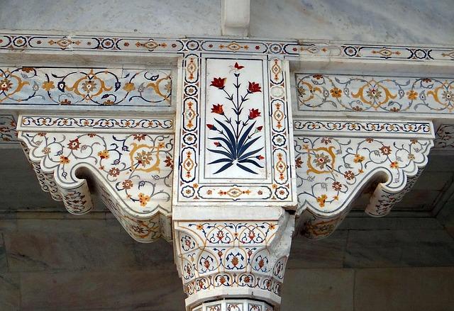 Free interior marble inlay precious stones inlaid cornice