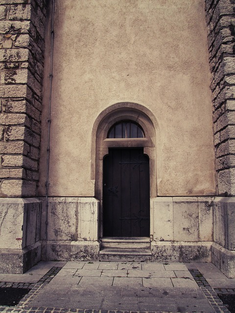 Free door church architecture entrance religion old