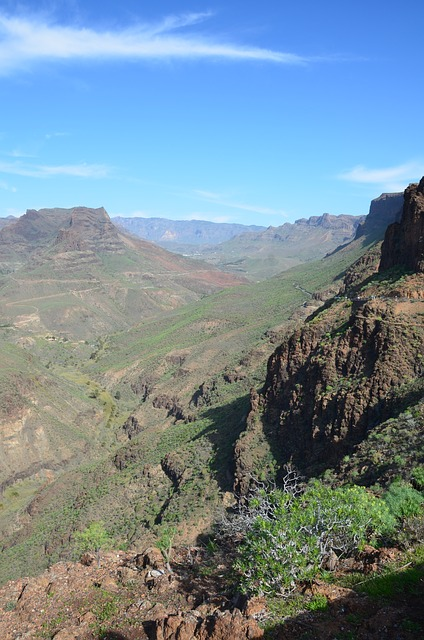 Free gran canaria canary islands spain canyon valley