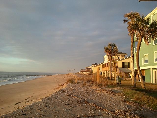 Free edisto island beach south carolina sunrise ocean